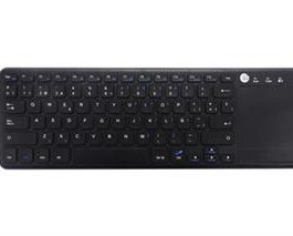TECLADO COOLBOX COOLTOUCH INALAMBRICO NEGRO