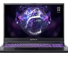 PORTATIL PRIMUX IOX SHARK 5TI i7-10750H 16GB 512GB 15.6″ FHD 144Hz GTX1650TI 4GB Wifi6